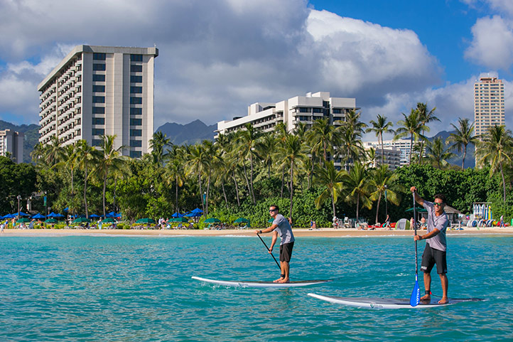 Waikiki Beach Access and Services